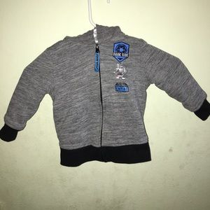 Star Wars toddler Jacket 2T gray with blue lining